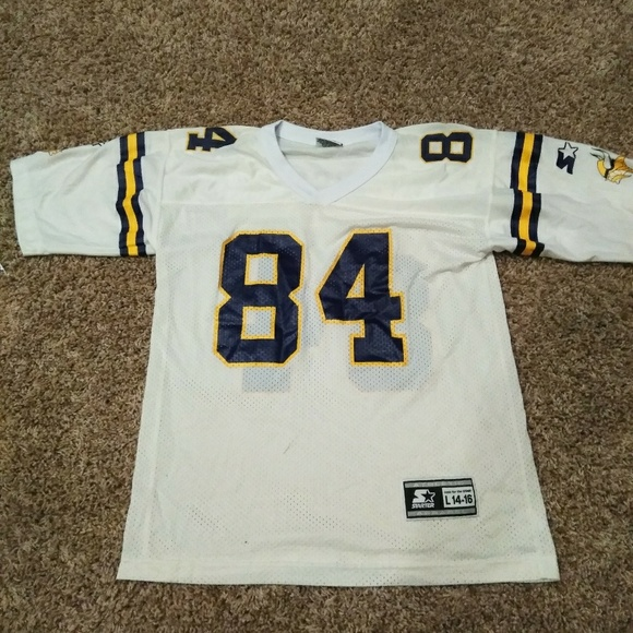 finest selection b97bb 83e67 Vintage Starter Randy Moss Vikings Jersey